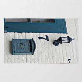 Letterbox at No. 7 Rug