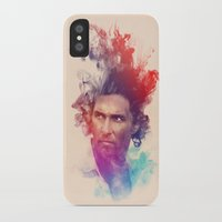 true detective iPhone & iPod Cases featuring True Detective by Pepe Psyche