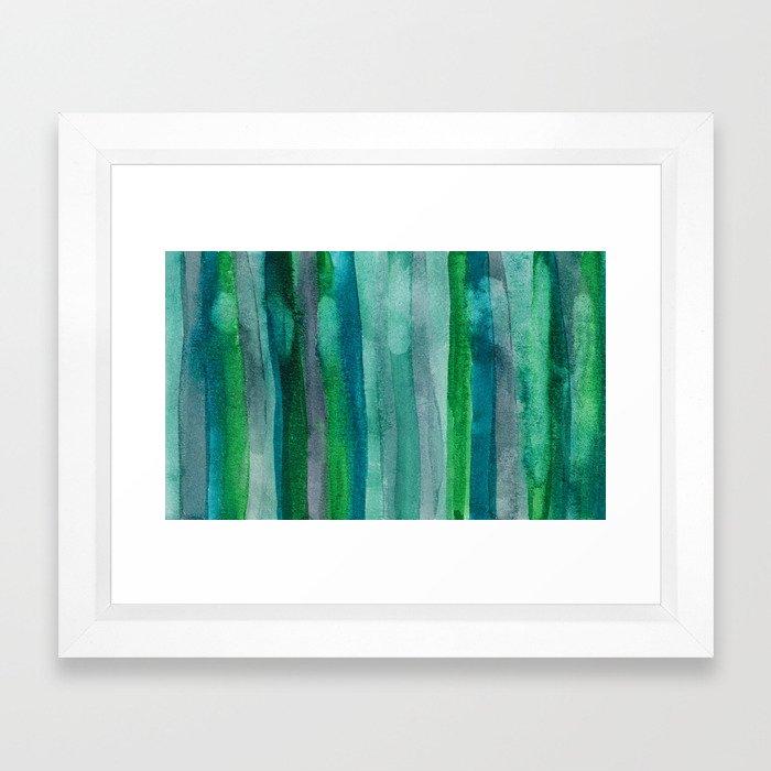 Abstract No. 378 Framed Art Print