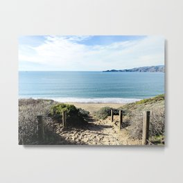 Path to Pacific  Metal Print