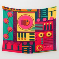 sunrise Wall Tapestries featuring Sunrise by Shelly Bremmer