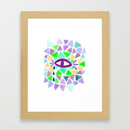 Crystaleyes 2 Framed Art Print
