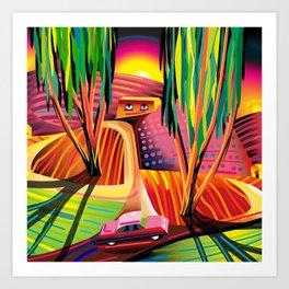 Gorilla Republic Art Print