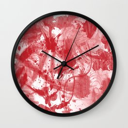 Blood [SWAG] Wall Clock