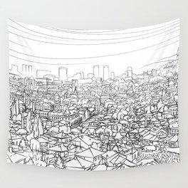 Sarajevo Panorama 001 Wall Tapestry
