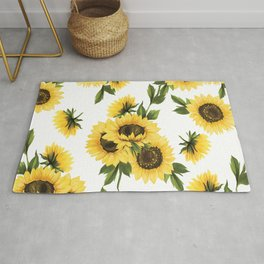 Lovely Sunflower Rug