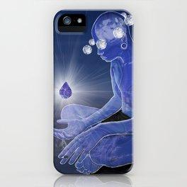 Labradorite gemstone iPhone Case