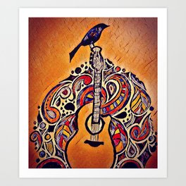 The Magic is in the Music Art Print
