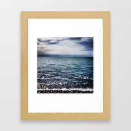 Waves IV Framed Art Print