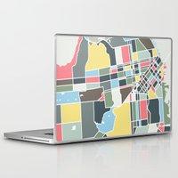 san francisco Laptop & iPad Skins featuring San Francisco. by Studio Tesouro