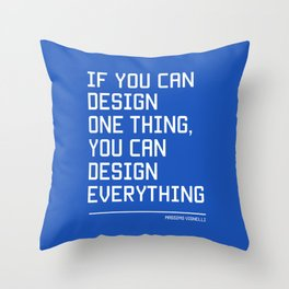 You can design everything Throw Pillow