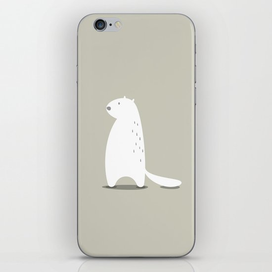BEAVER iPhone & iPod Skin