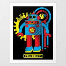 Asimov's Law Art Print