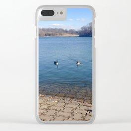 Lake Shawnee Clear iPhone Case