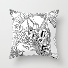 IN DREAMS (throw pillows, tote bags) Throw Pillow