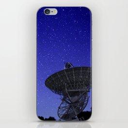 Watching the Sky iPhone Skin