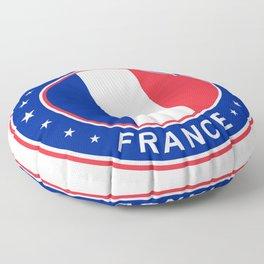 Rennes, France Floor Pillow