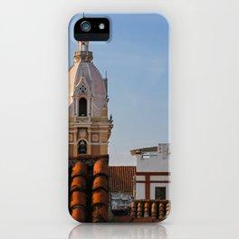 Streets of Cartagena  iPhone Case