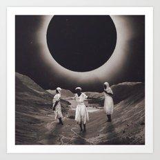 'Ecliptic Dances' Art Print