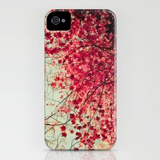 Autumn Inkblot Slim Case iPhone (4, 4s)