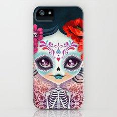 Amelia Calavera - Sugar Skull iPhone (5, 5s) Slim Case