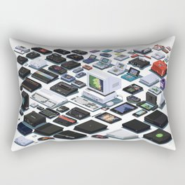 A Pixel Retrospective 2 Rectangular Pillow