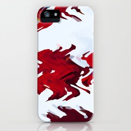 Red Ribbons iPhone Case