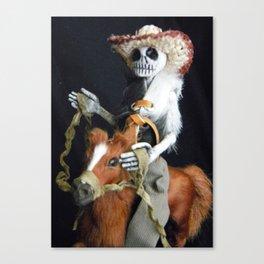 Day of the Dead: El Vaquero Canvas Print