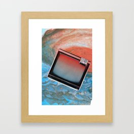 static flow Framed Art Print