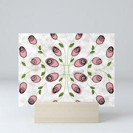 Many, Many Rosebuds Mini Art Print
