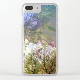 Moonlight Serenade Clear iPhone Case