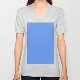 Cornflower blue Unisex V-Neck