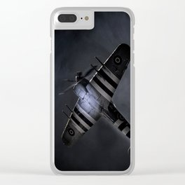 In The Searchlight Clear iPhone Case