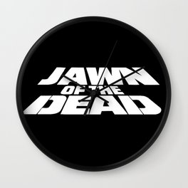 Jawn of the Dead Wall Clock