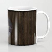 skyrim Mugs featuring Shield's of Skyrim - Downstar by VineDesign