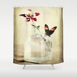 Columbine Art Shower Curtain