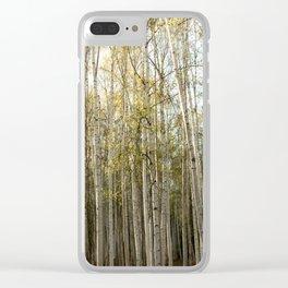 Backyard Density Clear iPhone Case