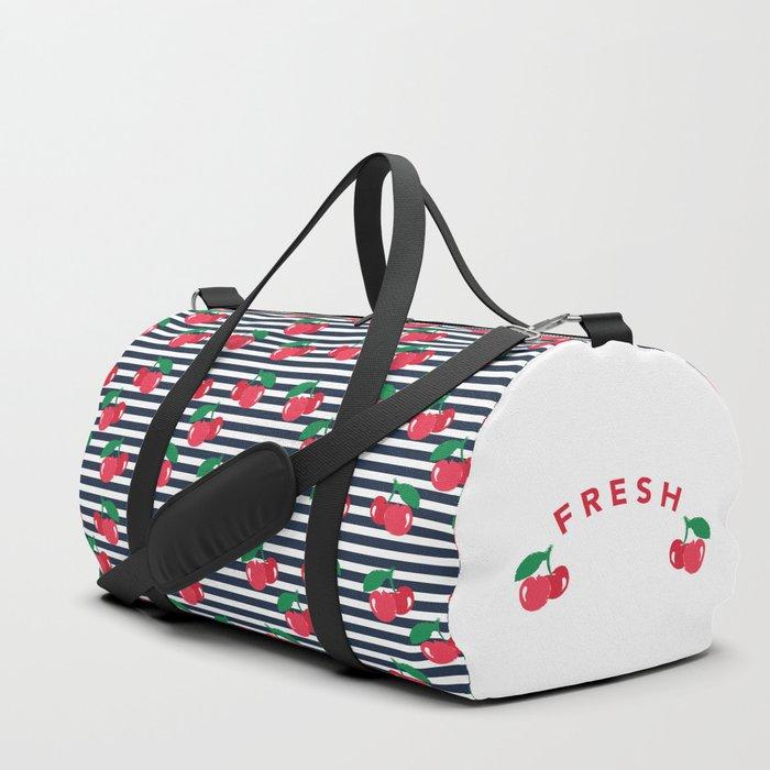 Fresh Cherry Duffle Bag