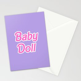 Barbie Baby Doll Stationery Cards