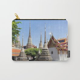 Stupas in Wat Pho, Bangkok Carry-All Pouch