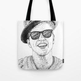 BrunoMars - Word Art Tote Bag