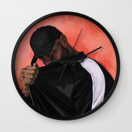 Booba Wall Clock