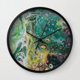 Hidden Treasures Wall Clock