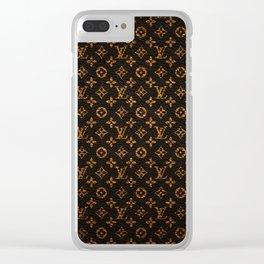 louis.vuitton Clear iPhone Case