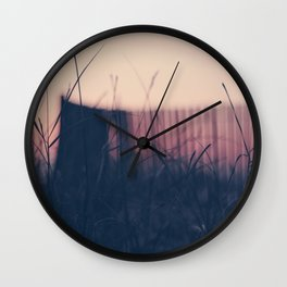 beach sunset II Wall Clock