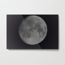 Novmber 13th Super Moon Metal Print