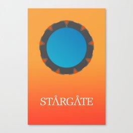Minimal Stargate Canvas Print