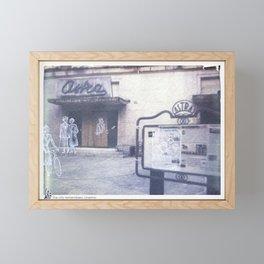 The city remembers; cinema Framed Mini Art Print