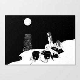 DarkSide Pleasures Canvas Print