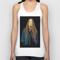 gangster Tank Tops featuring Gangster by Elena Medero